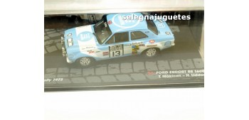 Ford Escort Rs 1600 - Rac 1973 - Makinen escala 1/43 Ixo