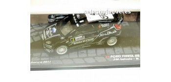 Ford Fiesta Rs WRC - Francia 2011 - Latvala escala 1/43 Ixo