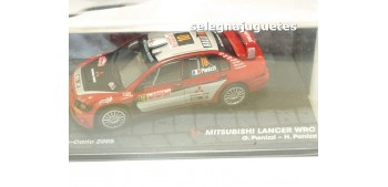 miniature car Mitsubishi Lancer - WRC Montecarlo 2005 - Panizzi