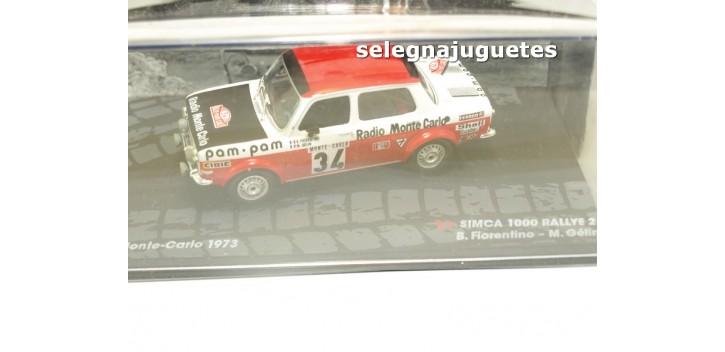 Simca 1000 Rallye 2 - Monte Carlo 1972 - Fiorentino escala 1/43 Ixo