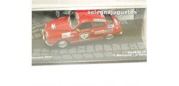 Saab 96 V4 - WRC - Suecia 1972 - Blomqvist escala 1/43 Ixo