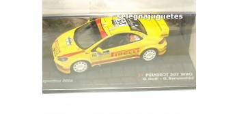 miniature car Peugeot 307 WRC - Rally Argentina 2006 - Galli
