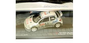 Peugeot 206 WRC . San Remo 2000 - Panizzi escala 1/43 Ixo