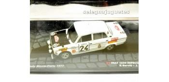 miniature car Seat 1430 especial 1800 - Montecarlo 1977 -