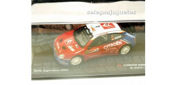 miniature car Citroen Xsara Wrc - Argentina 2004 - Sainz escala