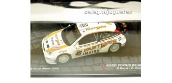 miniature car Ford Focus Rs WRC - Rally Monza Show - Rossi