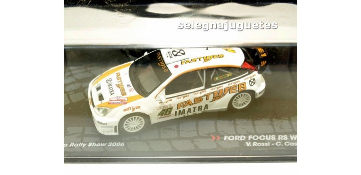 Ford Focus Rs WRC - Rally Monza Show - Rossi scale 1:43 miniature car