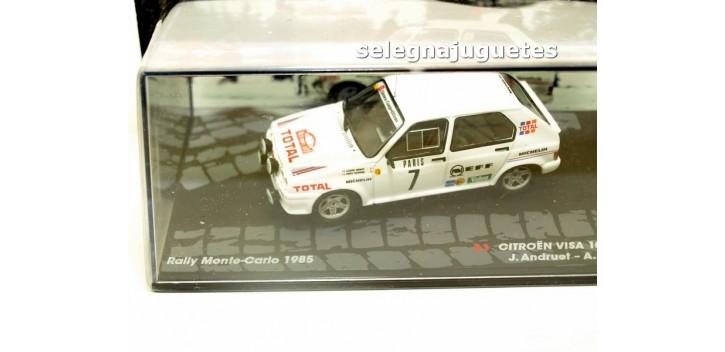 Citroen Visa 1000 Pistes - Montecarlo 1985 - Andruet escala 1/43 Ixo