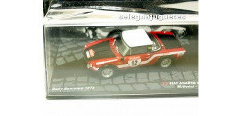 Fiat Abarth 124 Rally - San Remo 1973 - Verini escala 1/43 Ixo