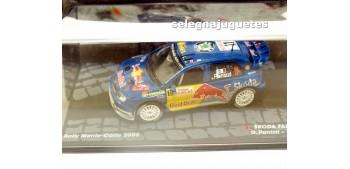 Skoda Fabia WRC - Montecarlo 2006 - Panizzi escala 1/43 Ixo