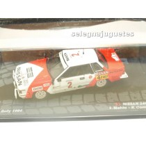 """<p>MODELO:<strong>Nissan 240RS - Rally Safari 1984 - S. Mehta - R. combes</strong></p><p>FABRICANTE: <strong>IXO</strong></p><p>ESCALA - SCALE - ECHELLE - MABSTAB: <strong>1/43 - 1:43</strong></p><p><strong style=""""font-style:normal;line-height:1.5em;font-family:Raleway, sans-serif;font-size:11.2px;"""">Ver más<a class=""""btn btn-default"""" href=""""https://www.selegnajuguetes.es/es/coches-a-escala/"""">coches a escala</a></strong><strong style=""""font-style:normal;line-height:1.5em;font-family:Raleway, sans-serif;font-size:11.2px;"""">Ver más<a class=""""btn btn-default"""" href=""""https://www.selegnajuguetes.es/es/por-escalas/escala-1-43/"""">1/43 - 1:43</a></strong></p>"""