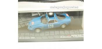 miniature car Matra Djet V - Montecarlo 1966 - Jaussaud escala