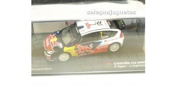 Citroen C4 WRC - Portugal 2010 - Ogier escala 1/43 Ixo