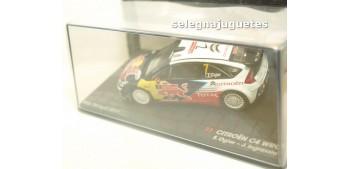 coche miniatura Citroen C4 WRC - Portugal 2010 - Ogier escala