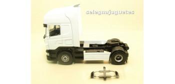 camion miniatura Cabeza Tractora Camión Scania escala 1/50 -