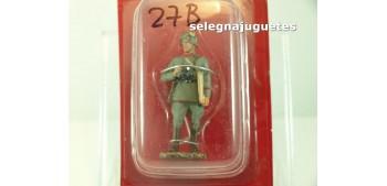 Oficial de Artillería Alemania 1918 Miniatura escala 54 mm