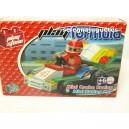 <p>JUEGO DE BLOQUES DE CONTRUCCION</p> <p>MARCA:<strong>PLAY STONE</strong></p> <p><strong>Mini coche de Formula 1 juego de Bloques 32 Piezas Play Stone</strong></p>