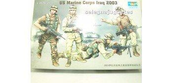 US Marine Corps Iraq 2003 escala 1/35 Trumpeter