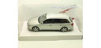 Audi A4 Sw gris 1/43 Mondo Motors coche escala miniatura