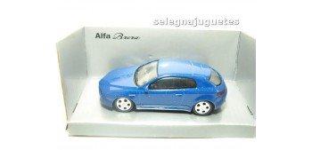 Alfa Romeo Brera azul 1/43 Mondo Motors coche escala miniatura