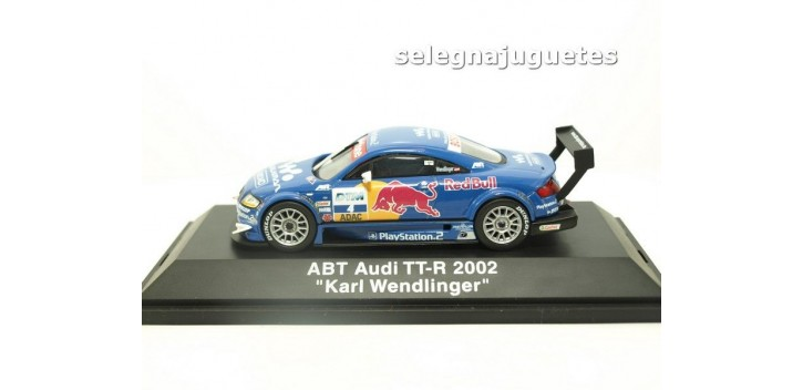 coche miniatura AUDI TT-R 2003 ABT KARL WENDLINGER 1/43 SCHUCO