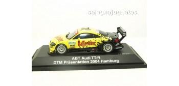 miniature car AUDI TT-R 2003 ABT DTM PRESENTACION 2004 HAMBURGO