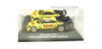 AUDI TT-R 2003 ABT DTM PRESENTACION 2004 HAMBURGO 1/43 SCHUCO