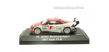 lead figure AUDI TT-R ABT ADAC 1/43 SCHUCO