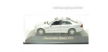 Mercedes Benz E55 Silver Vitrina escala 1/43 Yat ming