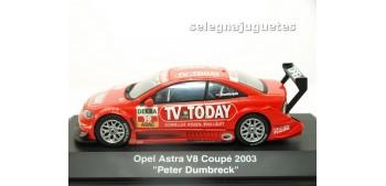 miniature car OPEL ASTRA V8 COUPE 2003 PETER DUMBRECK 1/43