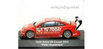 Opel Astra V8 Coupe 2003 Peter Dumbreck escala 1/43 Schucco coche metal miniatura Schucco