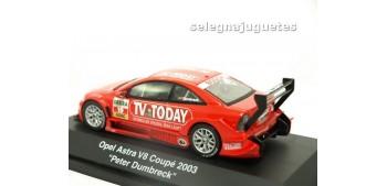Opel Astra V8 Coupe 2003 Peter Dumbreck escala 1/43 Schucco coche metal miniatura