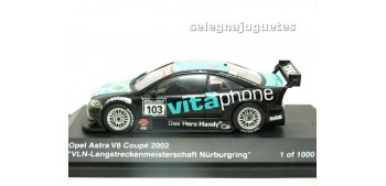 miniature car OPEL ASTRA V8 COUPE 2002 NURBURGRING 1/43 SCHUCO