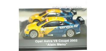 OPEL ASTRA V8 COUPE 2002 ALAIN MENU 1/43 SCHUCO