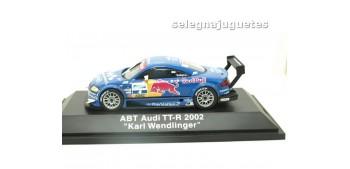 miniature car Audi TT-R 2002 ABT Karl Wendlinger escala 1-43