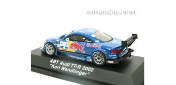 coche miniatura Audi TT-R 2002 ABT Karl Wendlinger escala 1-43