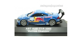 Audi TT-R 2002 Abt Matias Ekstrom escala 1/43 Schucco coche miniatura metal