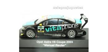 Opel Astra V8 Coupe 2003 Manuel Reuter escala 1/43 Schucco