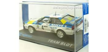 Audi Quattro A1 Stig Blomqvist - Bjorn Cederberg - Suecia 1982 - escala 1/32 slot coche metal miniatura