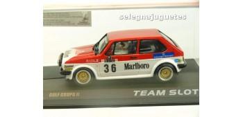 Volkswagen Golf Grupo II Marlboro Coche slot escala 1/32 Resina Team Slot