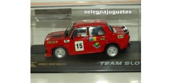 coche miniatura Simca 1000 Rally3 Coche slot escala 1/32 Resina