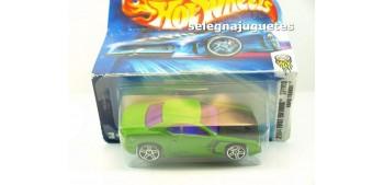 miniature car Rapid Transit 37-100 escala 1/64 Hot wheels
