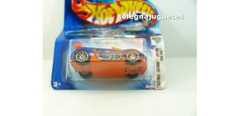 Trak-Tune 72-100 escala 1/64 Hot wheels (cartón doblado y