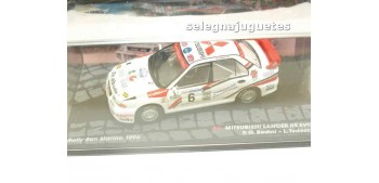 coche miniatura Mitsubishi Lancer - Rally San Marino 1996 -
