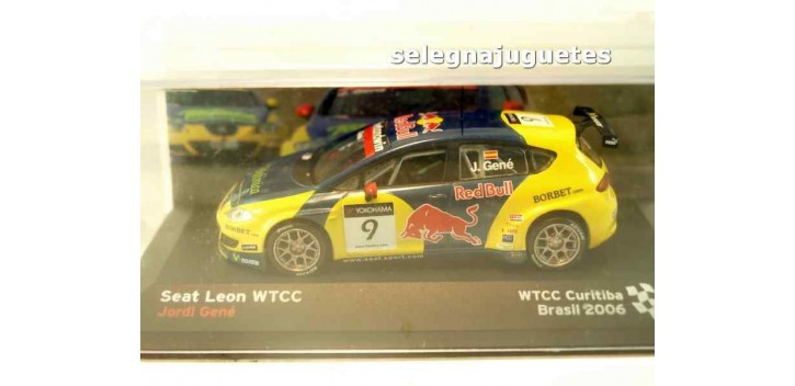 Seat Leon - Jordi Géne - Brasil 2006 - WTCC Curitiba escala 1/43 Ixo