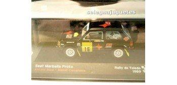 Seat Marbella Proto - Rally Toledo - Antonio Rius escala 1/43 Ixo Ixo