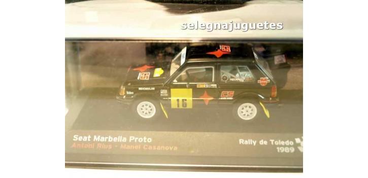 Seat Marbella Proto - Rally Toledo - Antonio Rius escala 1/43 Ixo