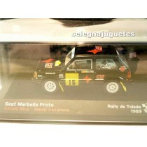 "<p>MODELO: <strong>Seat Marbella Proto - Rally Toledo - Antonio Rius</strong></p> <p>FABRICANTE: <strong>IXO</strong></p> <p>ESCALA - SCALE - ECHELLE - MABSTAB: <strong>1/43 - 1:43</strong></p> <p><strong style=""font-style:normal;line-height:1.5em;font-family:Raleway, sans-serif;font-size:11.2px;"">Ver más <a class=""btn btn-default"" href=""https://www.selegnajuguetes.es/es/coches-a-escala/"">coches a escala</a> </strong><strong style=""font-style:normal;line-height:1.5em;font-family:Raleway, sans-serif;font-size:11.2px;"">Ver más <a class=""btn btn-default"" href=""https://www.selegnajuguetes.es/es/por-escalas/escala-1-43/"">1/43 - 1:43</a></strong></p>"