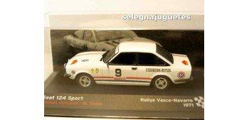 Seat 124 Sport - Manuel Juncosa 1971 escala 1/43 Ixo