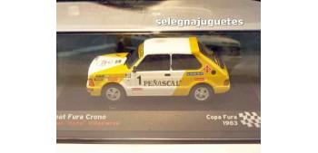 "Seat Fura Crono - Juan ""Kuru"" Villacieros Copa Fura escala 1/43 Ixo"